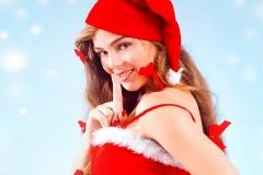 świąteczna dziewczyna