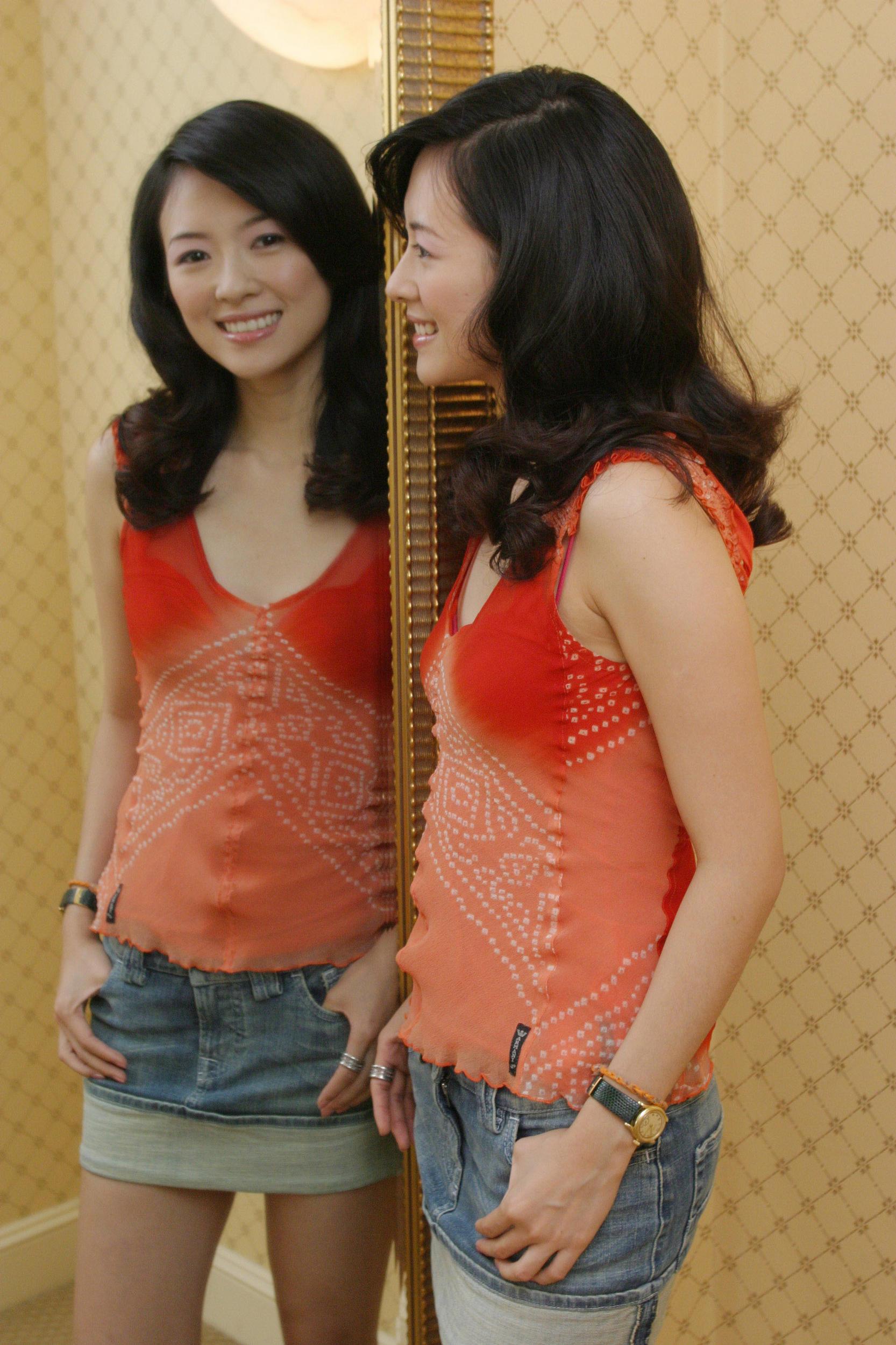 piękna Ziyi Zhang