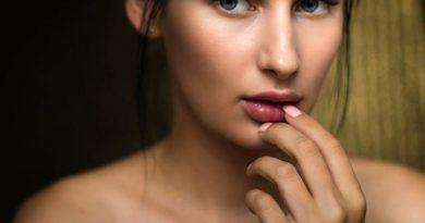 twarz kobiety, botoks