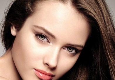 przepiekna twarz kobiety