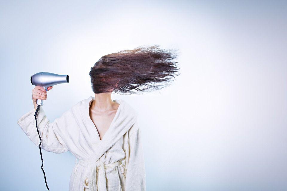suszenie, włosy